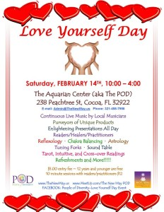 Love Yourself Day flier